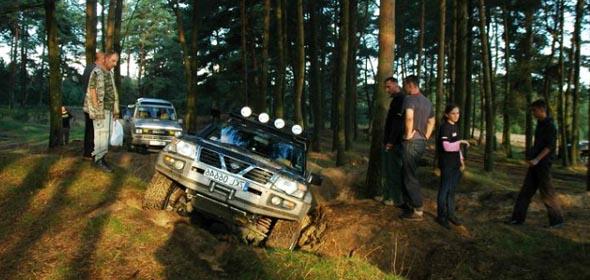 wypady autami terenowmi bieszczady